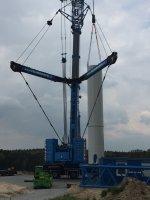 Die Errichtung der Windräder beginnt!